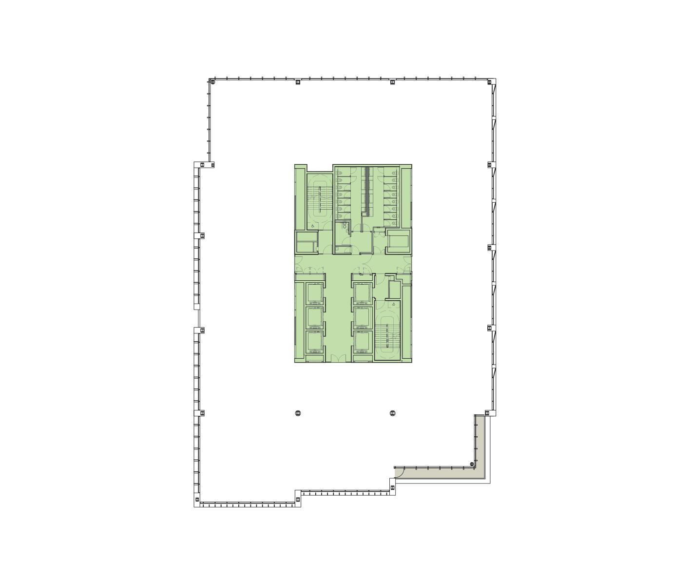 Eighth Floor Schematic