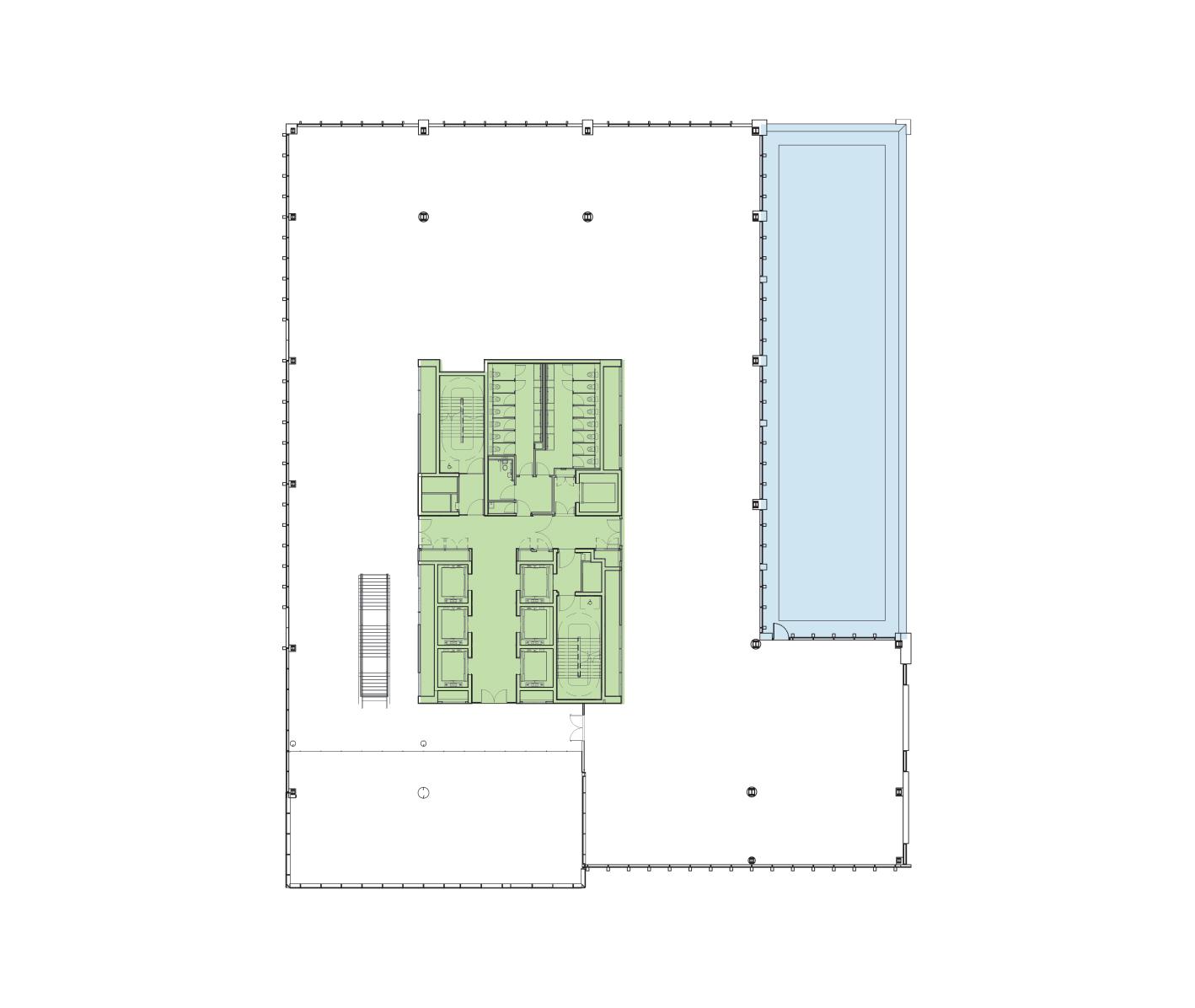 First Floor Schematic
