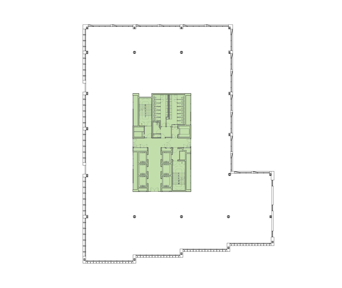 Second Floor Schematic