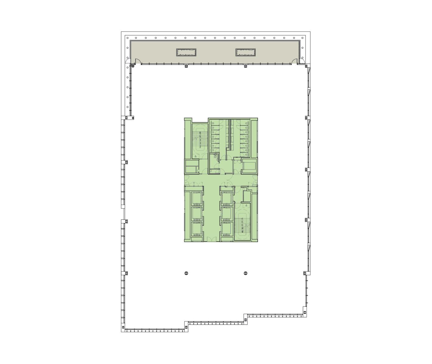 Seventh Floor Schematic