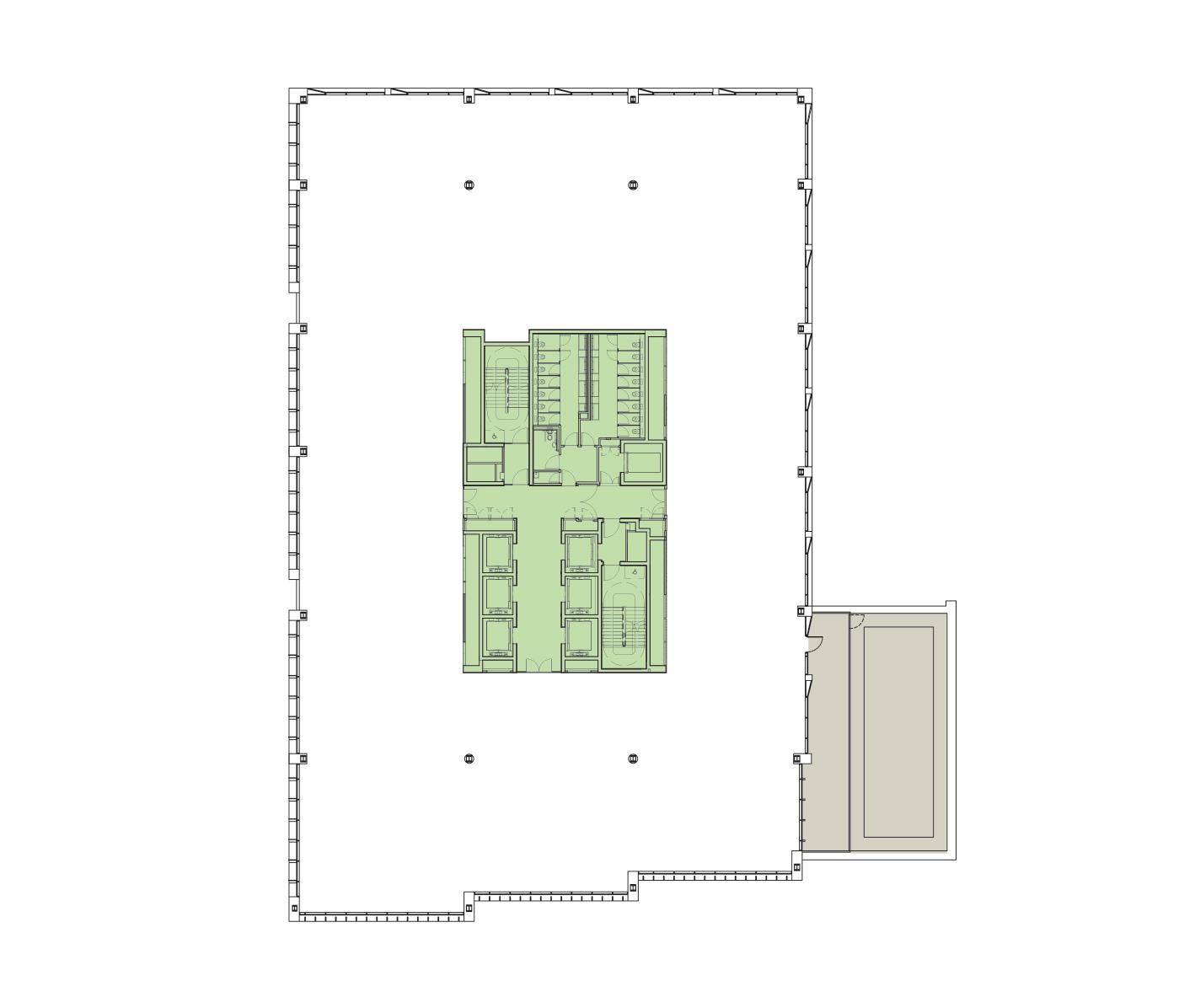 Sixth Floor Schematic